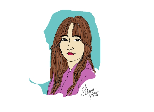 Goo Hye Sun art by Shiella Fiolly Amanda S.